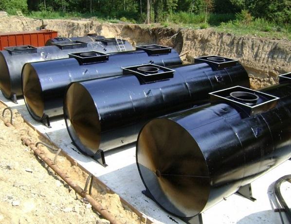 Резервуары и емкости металлические